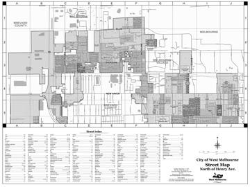 City Maps West Melbourne Fl Official Website