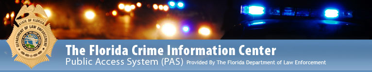 Crime Information Center Website