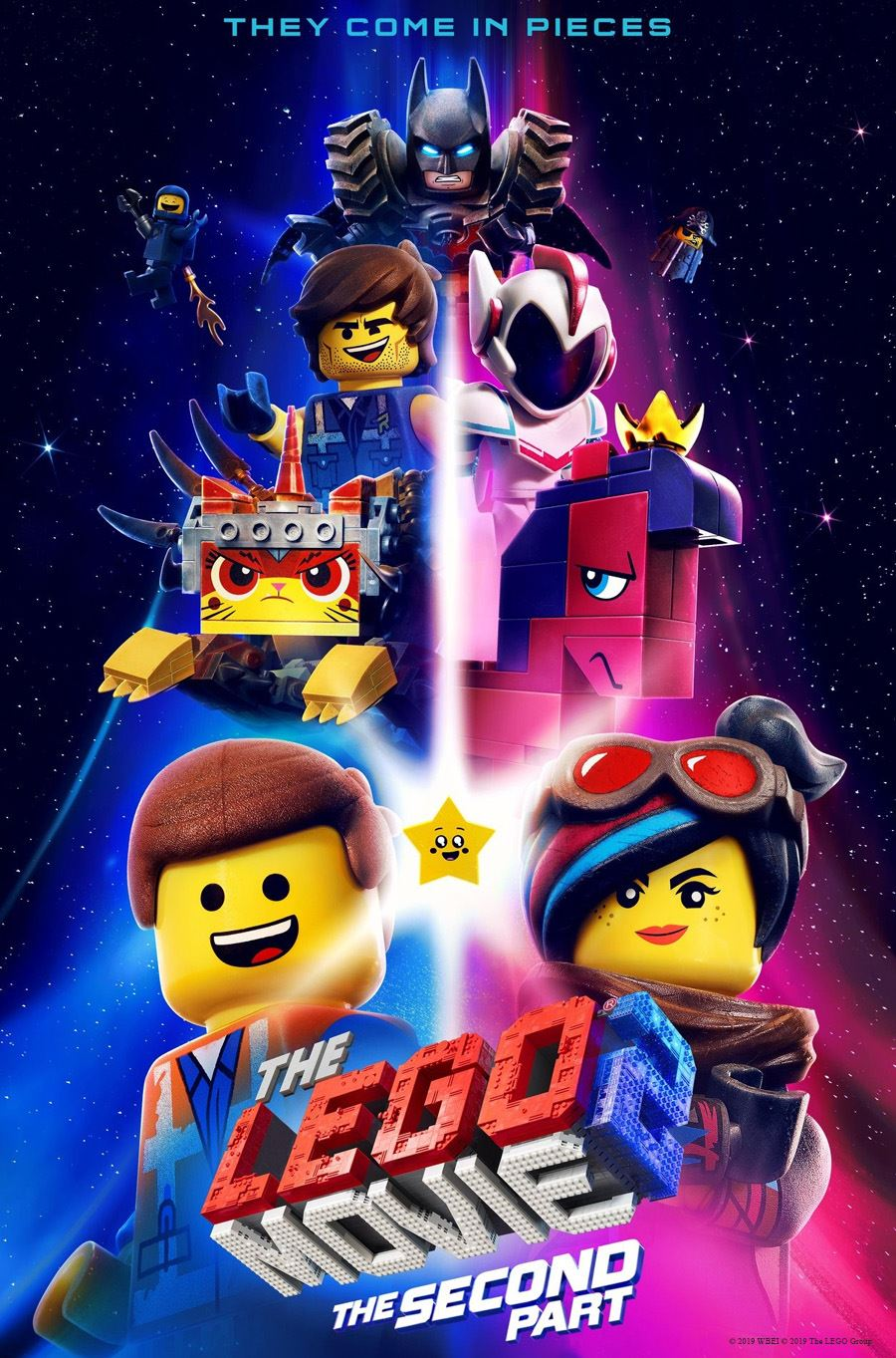 the lego 2 movie poster
